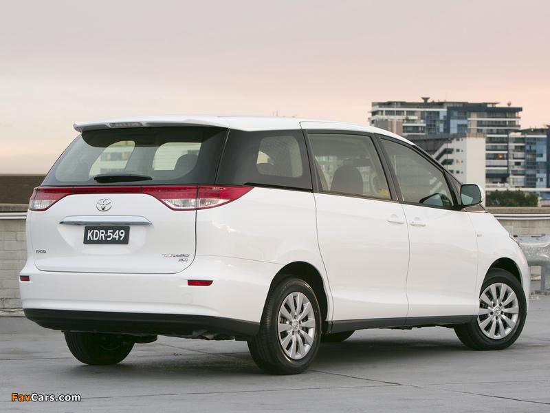 Photos of Toyota Tarago 2012 (800 x 600)