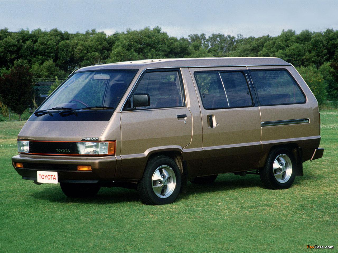 Pictures of Toyota Tarago 1984–90 (1280 x 960)