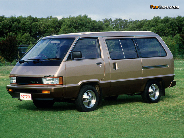 Pictures of Toyota Tarago 1984–90 (640 x 480)