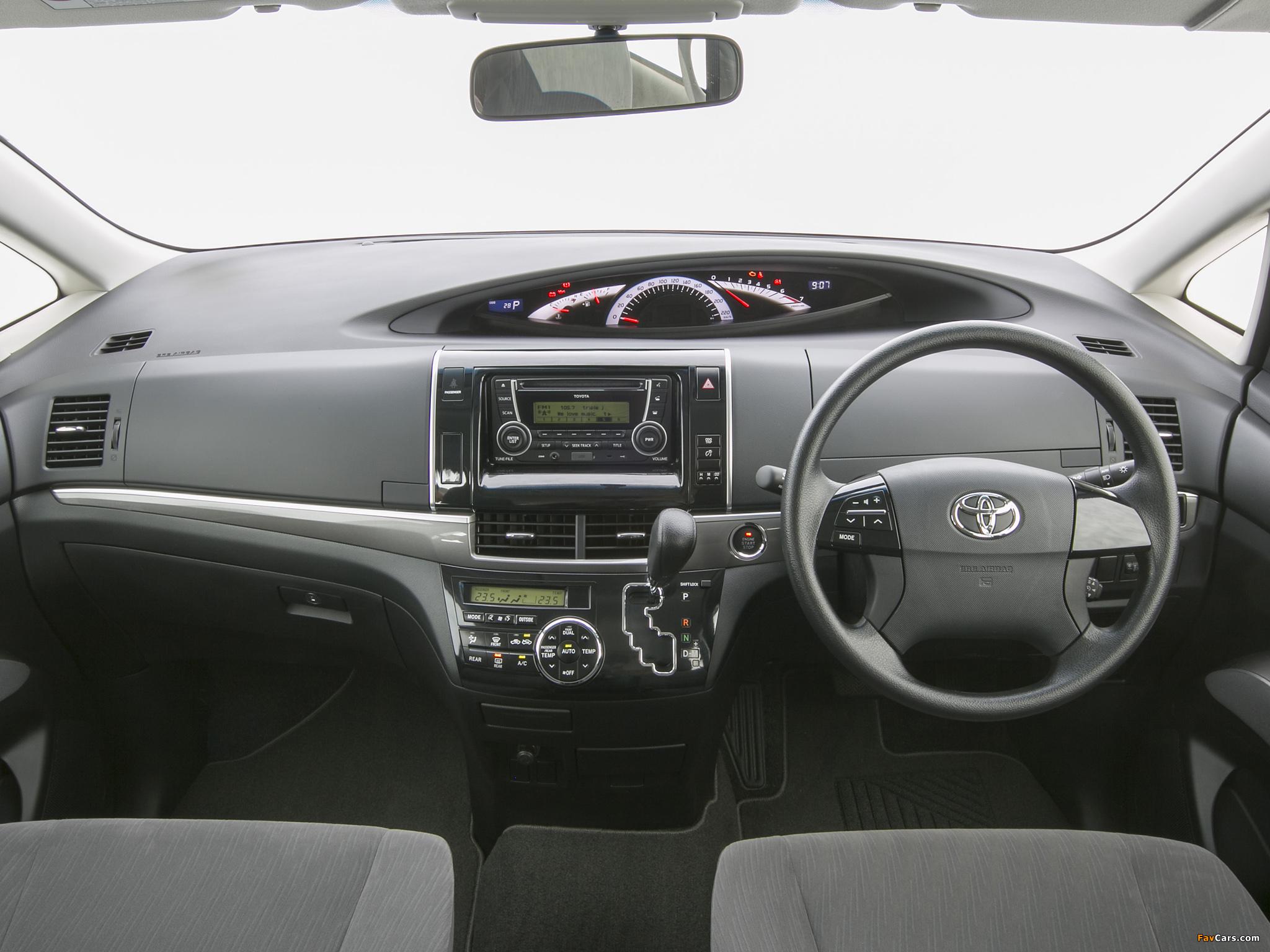 Pictures of Toyota Tarago 2012 (2048 x 1536)
