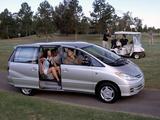 Toyota Tarago 2000–03 pictures