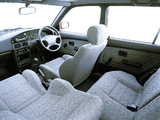 Photos of Toyota Tazz 160i XE (EE90) 1996–2006