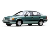Pictures of Toyota Tercel Sedan US-spec 1994–98