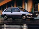 Toyota Tercel 3-door US-spec 1987–90 images