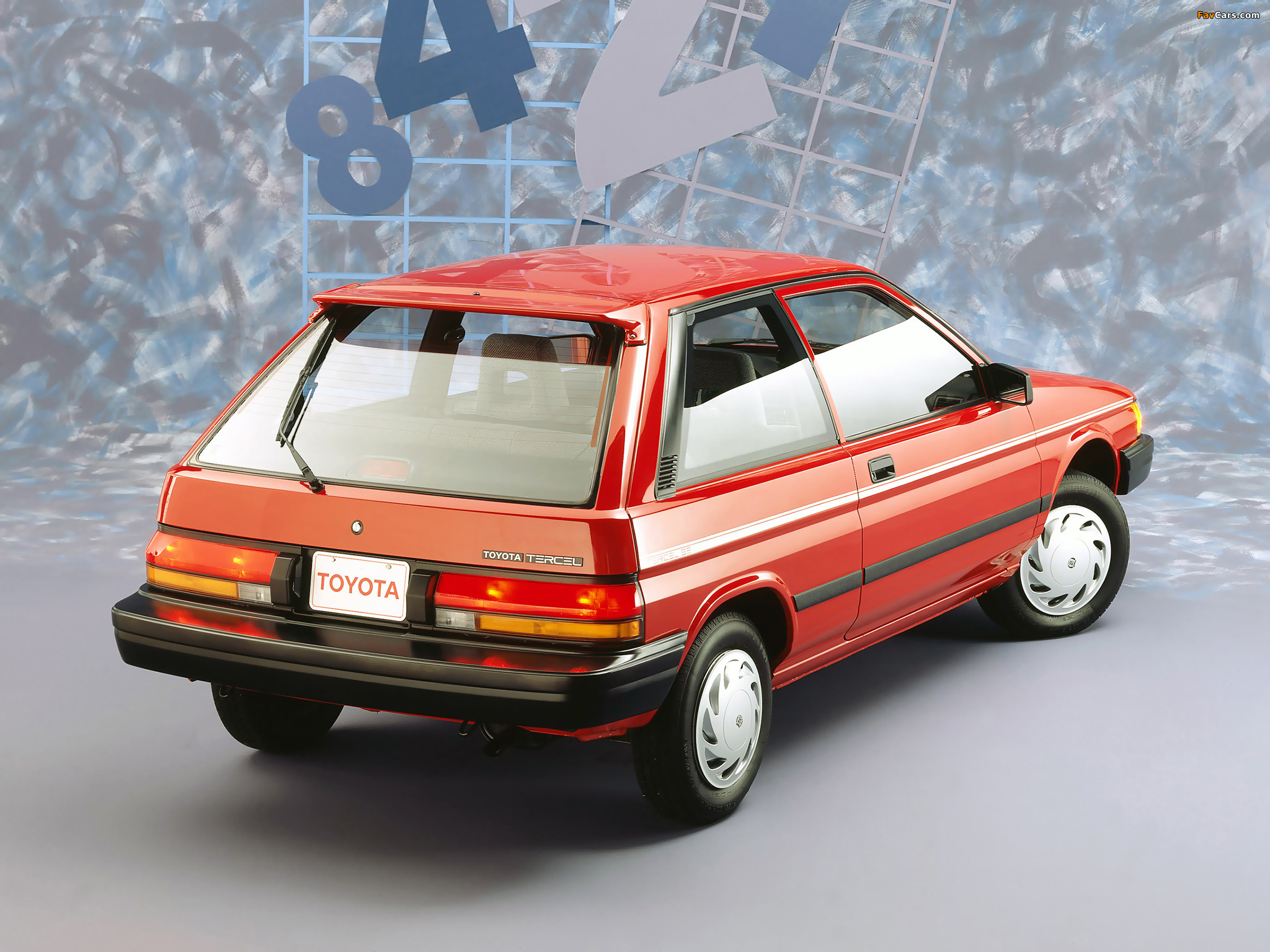 Toyota Tercel 3 Door Us Spec 1987 90 Pictures 2048x1536