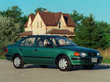Toyota Tercel Sedan US-spec 1994–98 pictures