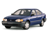 Toyota Tercel Sedan CE US-spec 1998–99 wallpapers