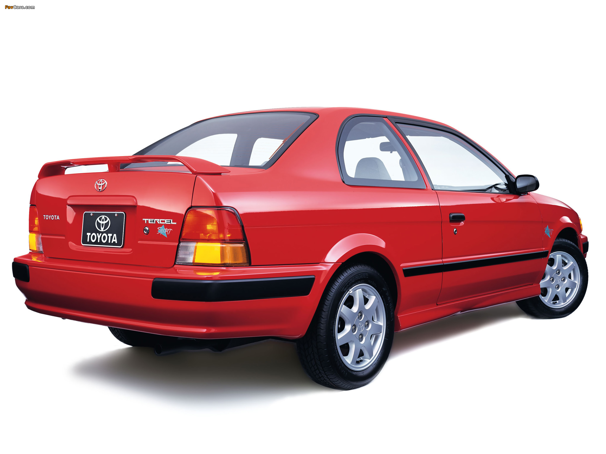 Toyota Tercel Sport Coupe Us Spec 1998 99 Wallpapers