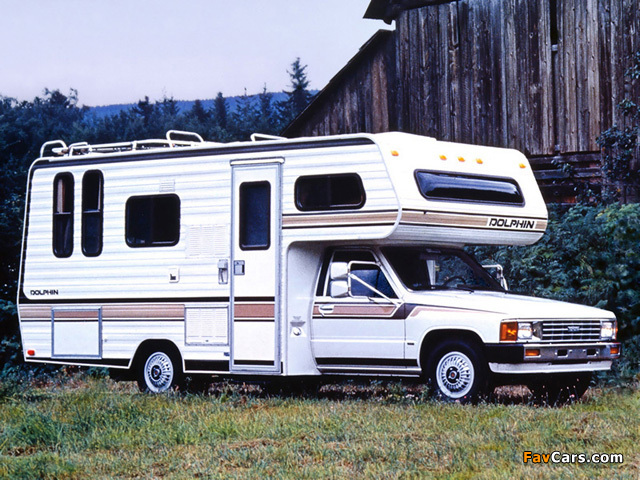 Pictures Of Dolphin Toyota Truck Motorhome Rn44 1983