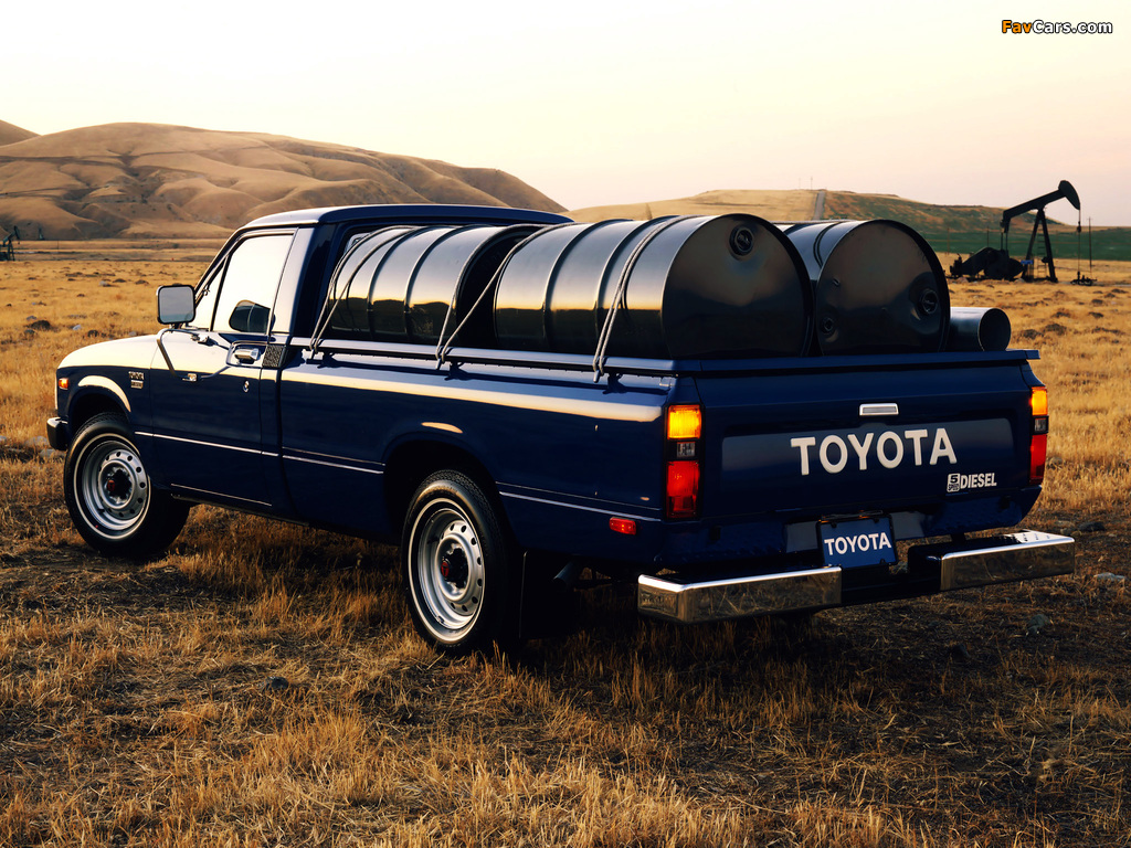 Toyota Deluxe Long Diesel Truck 2wd Ln40 1982 83 Photos