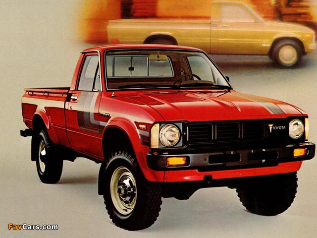 Toyota Sr5 Sport Truck 4wd Rn37 1979 81 Wallpapers 640x480