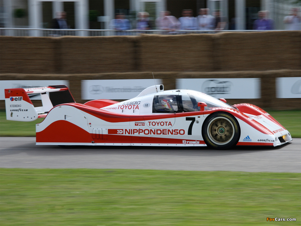 Images of Toyota TS010 1991–92 (1024 x 768)