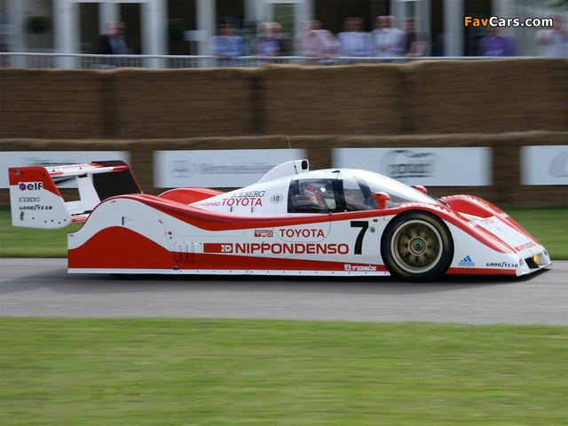 Images of Toyota TS010 1991–92 (640 x 480)
