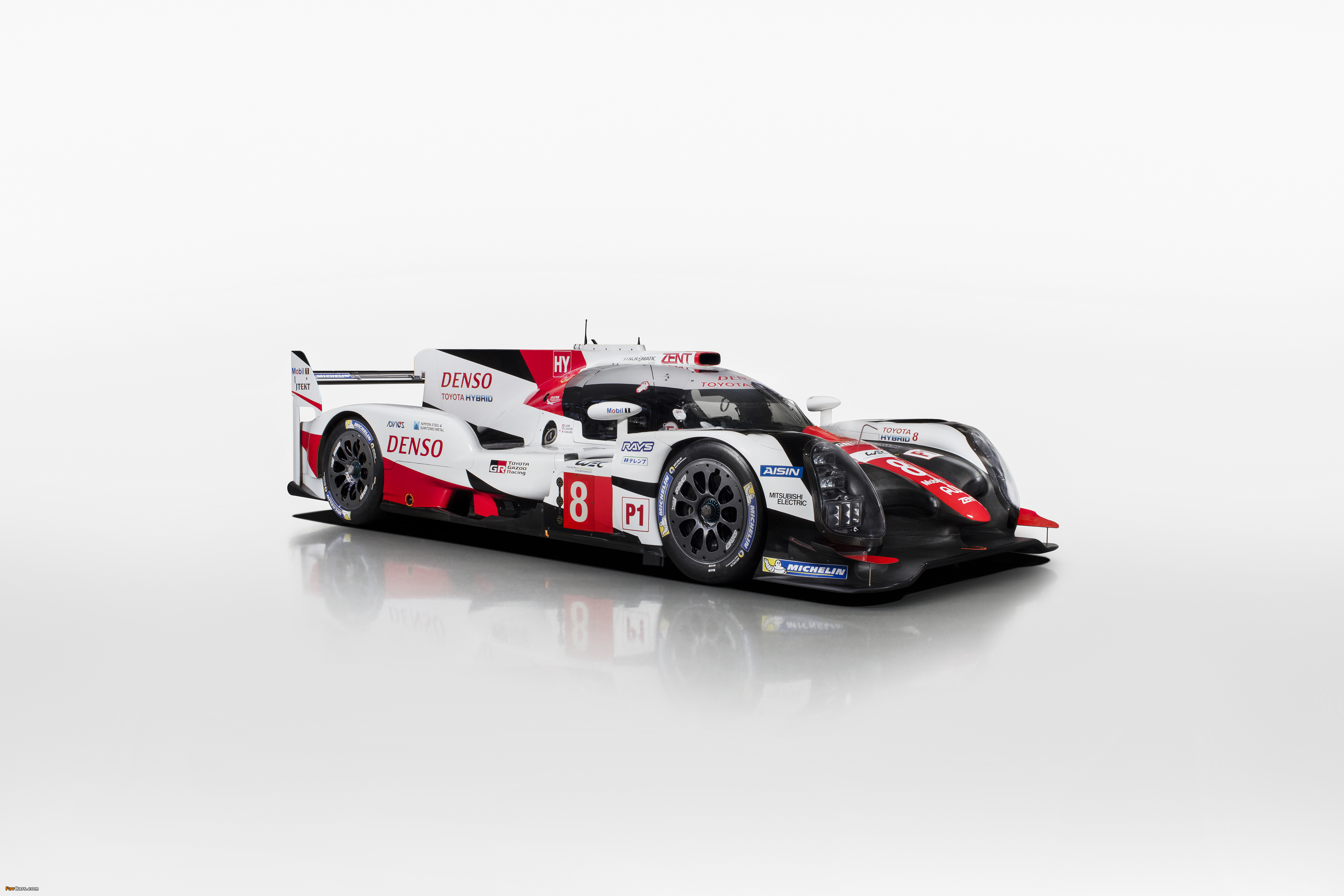 Images of Toyota TS050 Hybrid 2017 (4096 x 2731)