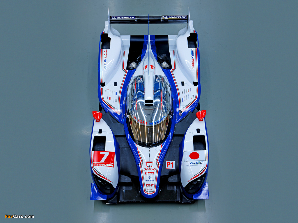 Pictures of Toyota TS030 Hybrid 2012 (1024 x 768)