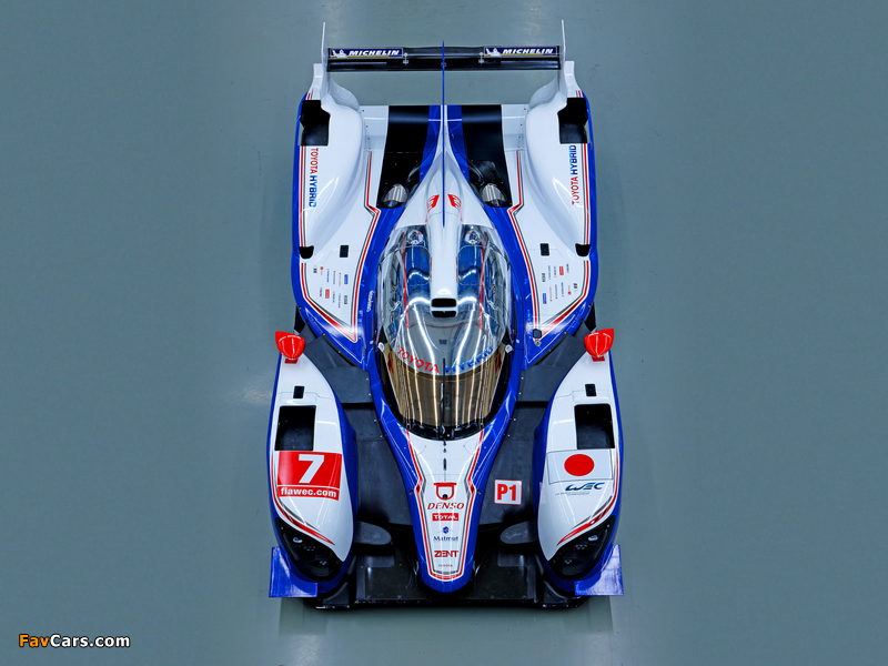 Pictures of Toyota TS030 Hybrid 2012 (800 x 600)