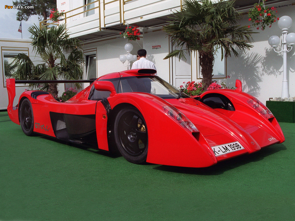 Toyota GT-One Road Version (TS020) 1998 photos (1024 x 768)