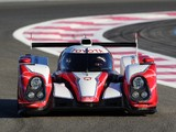 Toyota TS030 Hybrid Test Car 2012 images