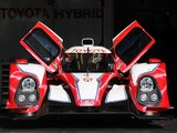 Toyota TS030 Hybrid Test Car 2012 photos