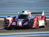 Toyota TS030 Hybrid Test Car 2012 wallpapers