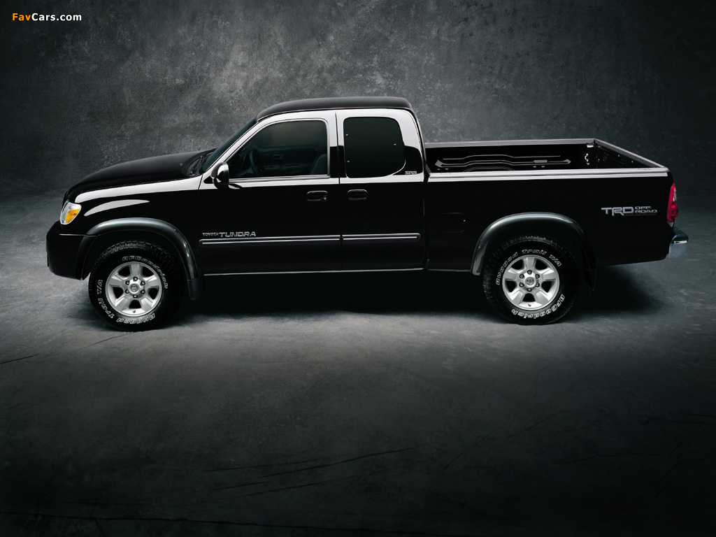 Images of TRD Toyota Tundra Access Cab SR5 Off-Road ...