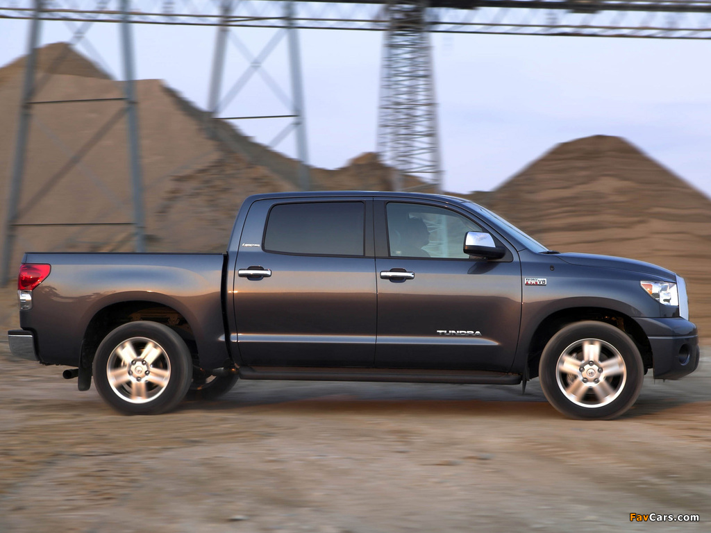 Photos of Toyota Tundra CrewMax Limited 2007–09 (1024x768)