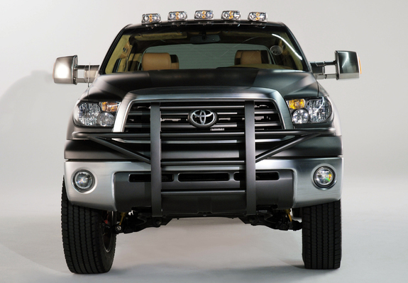 Toyota Concept Truck Diesel >> Pictures Of Toyota Tundra Dually Diesel Concept 2007