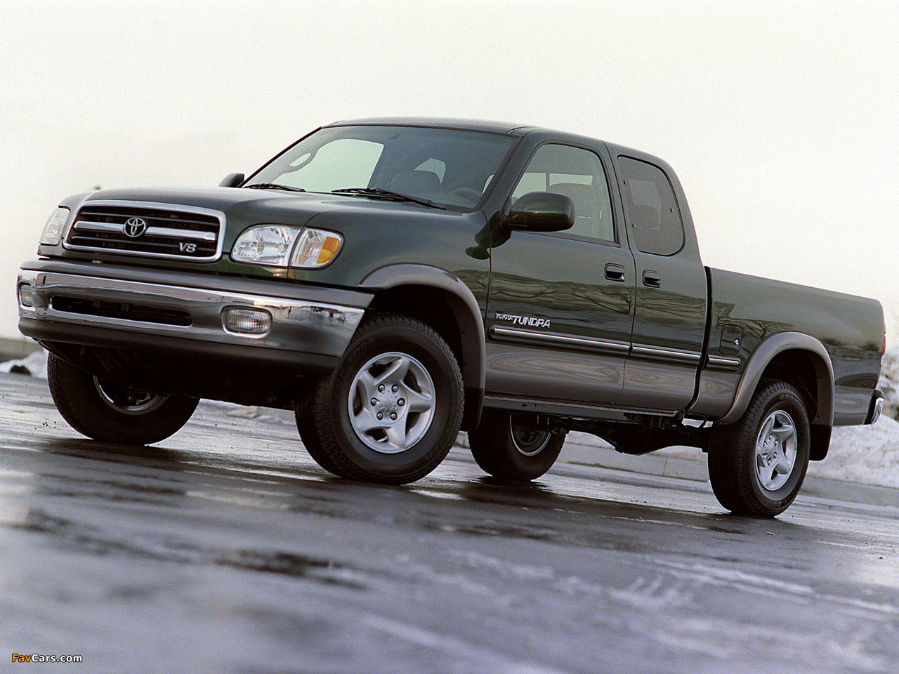 Toyota Tundra Access Cab Sr5 1999 2002 Pictures 1280x960