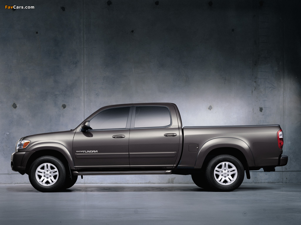 Tundra Toyota Toyota Tundra Double Cab Limited 2003–06 wallpapers (1024x768)