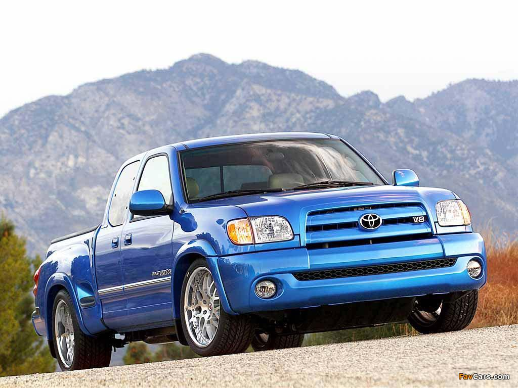 Trd toyota tundra stepside concept 2003 wallpapers 1024 x 768