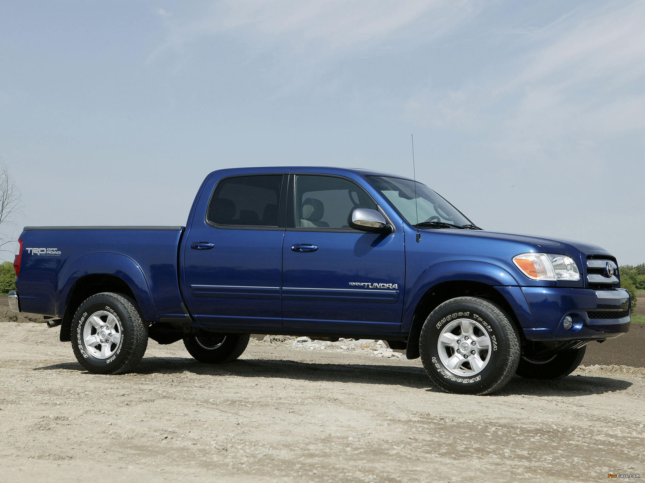 Trd toyota tundra double cab limited off road edition 2003 06 wallpapers 2048