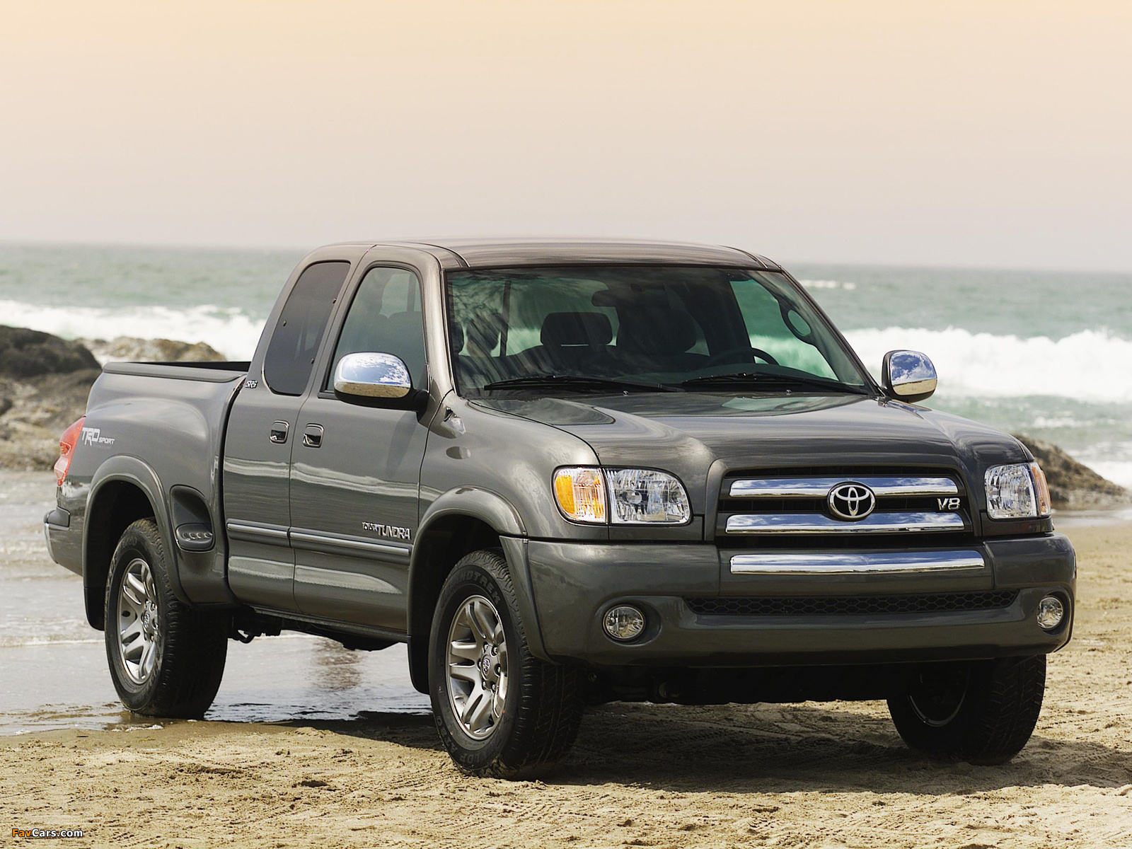 TRD Toyota Tundra Stepside SR5 Sport Edition 2003–06 wallpapers (1600x1200)