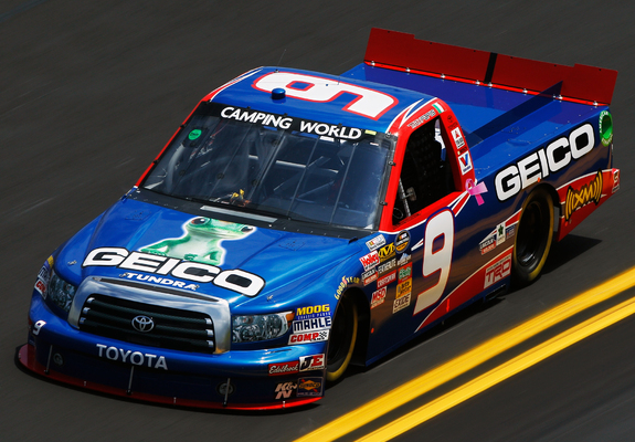 Toyota Tundra Nascar Camping World Series Truck 2009 Wallpapers