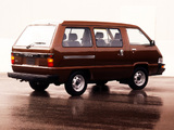 Images of Toyota Deluxe Van 1984–89