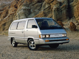Photos of Toyota Van LE 1984–89
