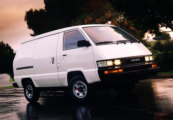Photos Of Toyota Cargo Van 4WD 1987 89