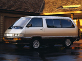 Pictures of Toyota Van LE 1984–89
