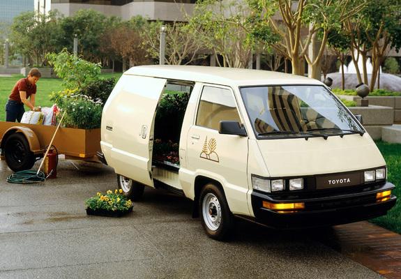 Toyota Cargo Van 1984 89 Photos