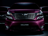 Toyota Vellfire 3.5 Z G Edition (GGH20W) 2008–2011 wallpapers