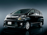 Toyota Vellfire 2.4 Z Golden Eyes (ATH20W) 2012 wallpapers