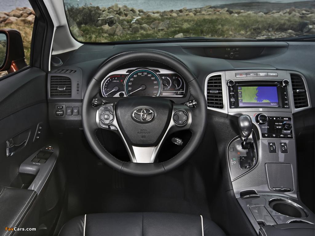Pictures of Toyota Venza EU-spec 2012 (1024 x 768)