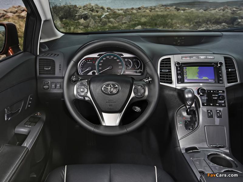 Pictures of Toyota Venza EU-spec 2012 (800 x 600)