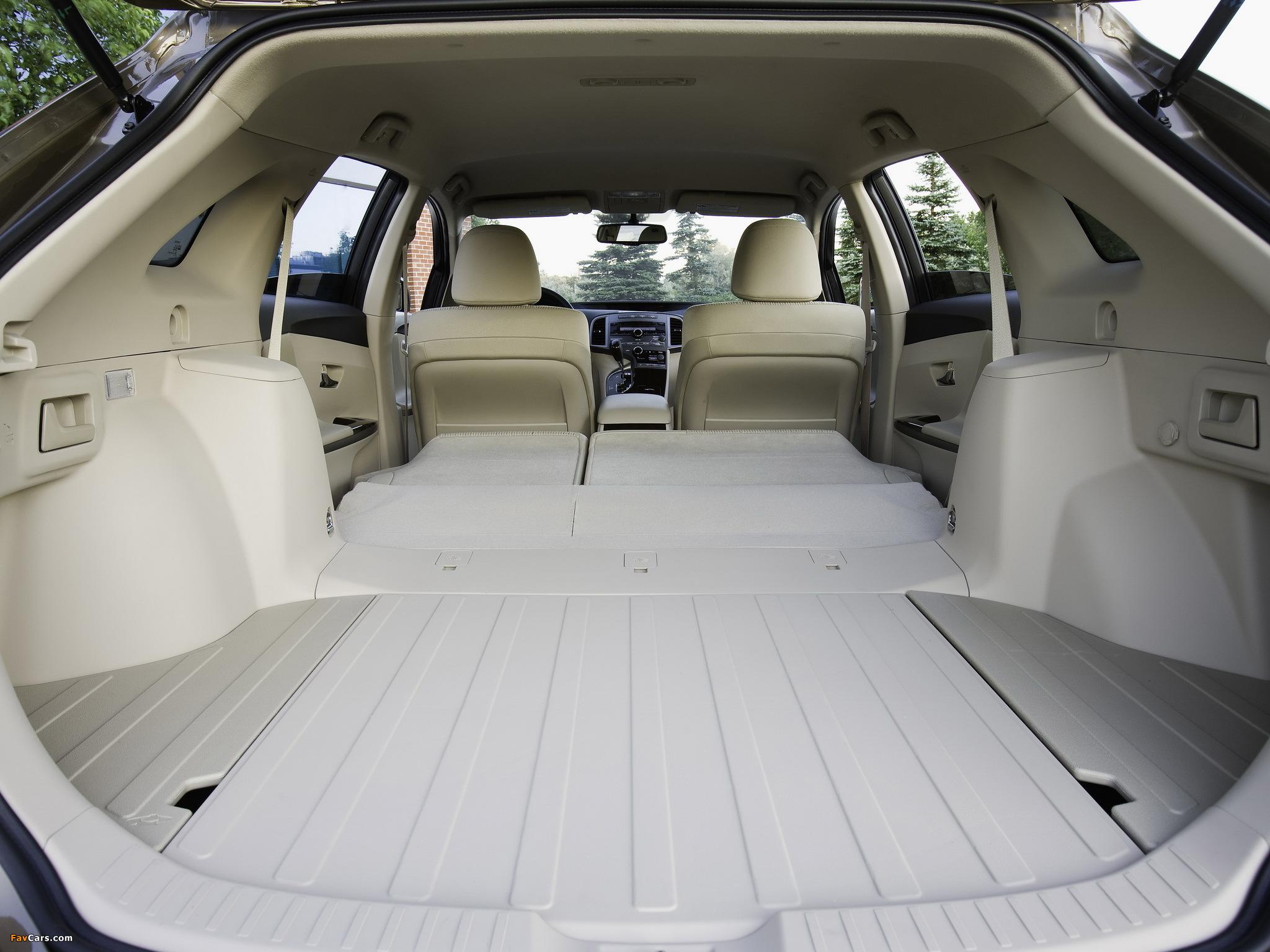 Toyota Venza 2010 технические характеристики #10