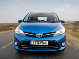 Photos of Toyota Verso UK-spec 2013