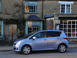 Toyota Verso-S UK-spec 2010 pictures