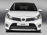 Toyota Verso 2012 pictures