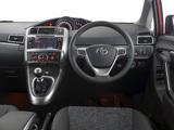 Toyota Verso ZA-spec 2013 pictures
