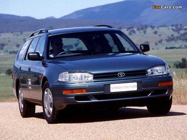 Images of Toyota Vienta Wagon (XV10) 1995–96 (640 x 480)