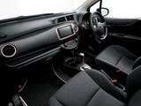 Images of Toyota Vitz 1.3 F Ciel (NCP131) 2012–14