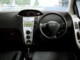 Pictures of Toyota Vitz 2005–07